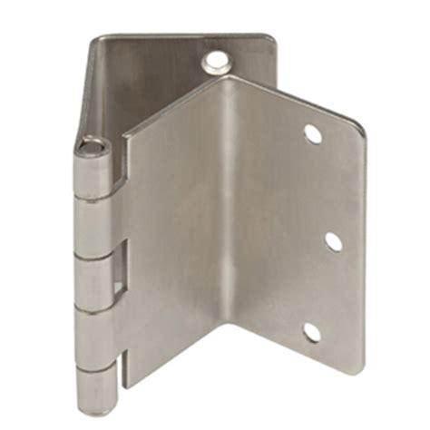 Swing Away Offset Door Hinges Satin Nickel Expandable