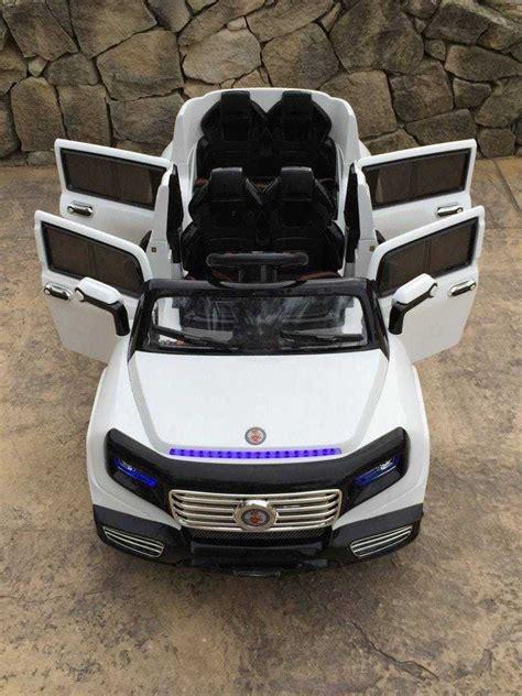 coche cuatro puertas coche infantil limusina 12v cuatro puertas pekecars