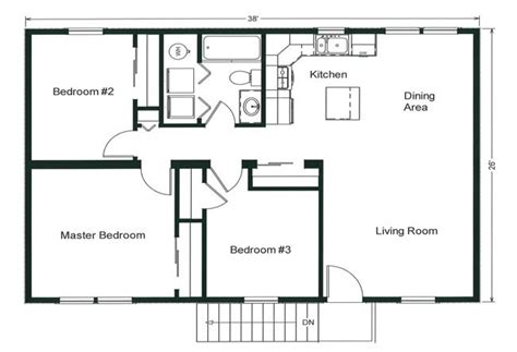 home design in 1000 sq ft space