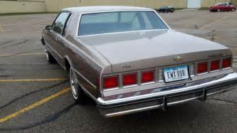 1984 chevy caprice coupe 2 door v8 53k showroom impala