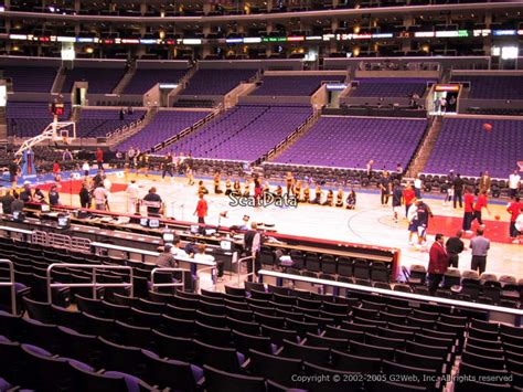staples center seat viewer staples center section 119 seat views seatscore