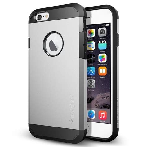 Casing Iphone Iphone Iphone 5 Iphone 6 Iphone 6 Plus spigen 174 apple iphone 6 6s tough armor back cover