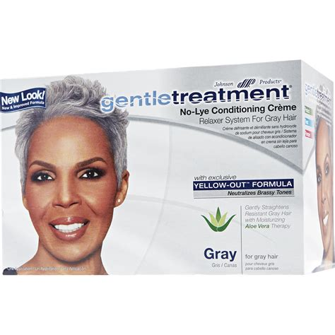 Hair Relaxers For Gray Hair | gentle treatment no lye conditioning creme relaxer for
