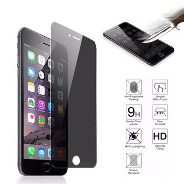 Sale Tempered Glass Anti Gores Screen Protector Curved 9h 3d Touch Anti Peep Curved Cover Tempered Glass Screen
