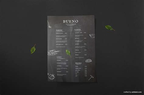 tapas menu template free tapas menu template ai