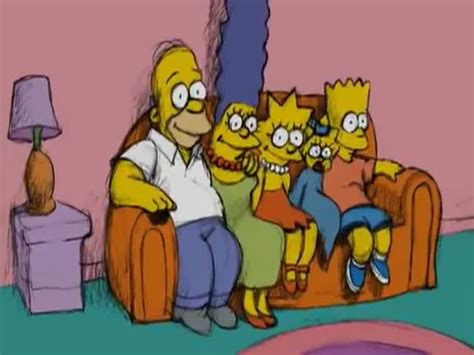the simpsons on the couch the simpsons couch gag by bill plympton izismile com