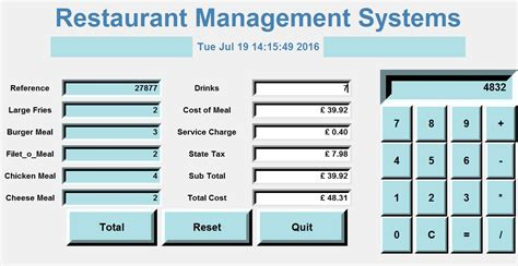 python tutorial gui pdf how to create a gui restaurant management systems in