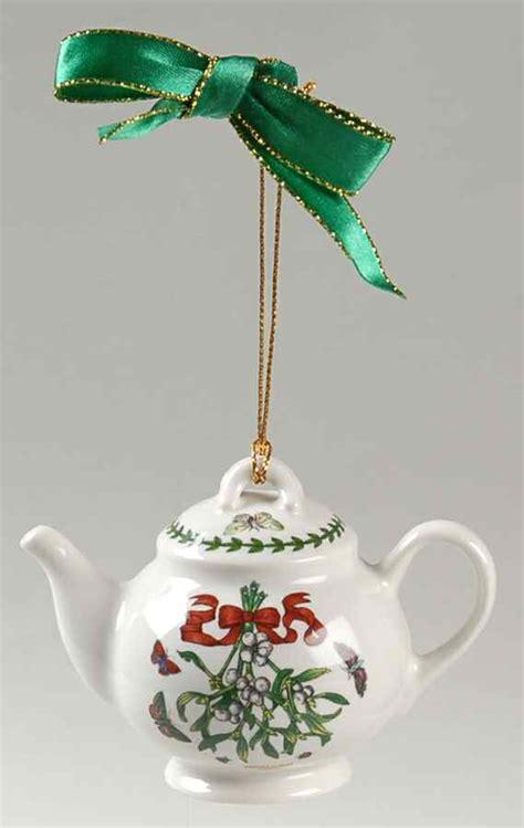Portmeirion Botanic Garden Mistletoe Portmeirion Botanic Garden Mistletoe Teapot Ornament 8808212 Ebay