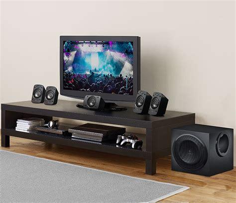 logitech   surround sound speakers system thx