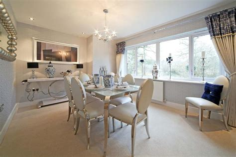 Show Home Dining Room by 5 Bedroom Detached House For Sale In Birling Road