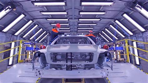 car factory volvo cars manufacturing  china youtube