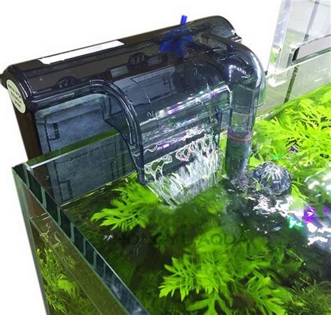 Aquarium Kapas Hi Tech Filter Recent aquarium waterfall filter fish tank ulter silent multifunctional 3in1 filter external wall