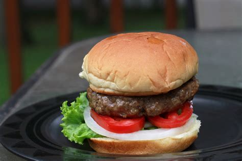 well done grilled hamburgers the frugal girl