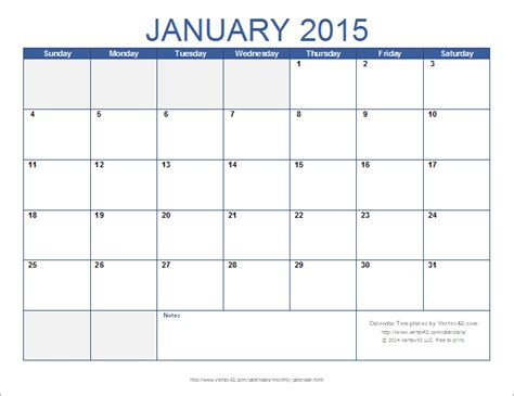 month calendar template vertexcom