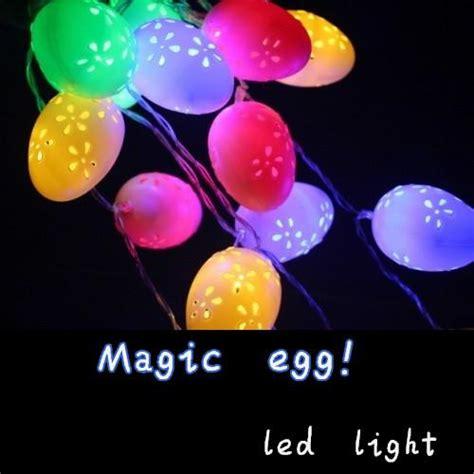 egg lights best easter eggs plastic egg creative lighting led battery