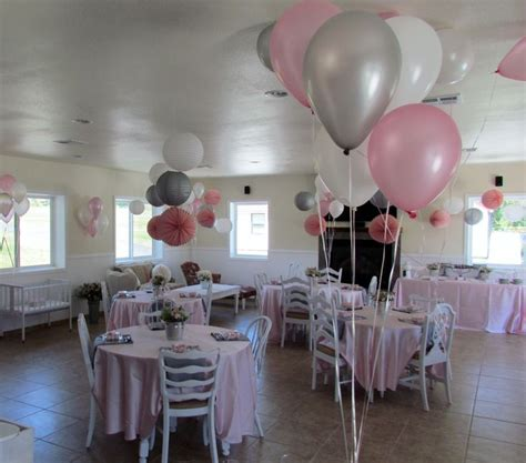 Gray And Pink Baby Shower by Pink And Gray Baby Shower Baby Shower
