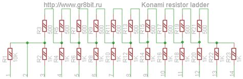 how to make a resistor ladder adding a multimedia capability covox device gr8bit kb0010