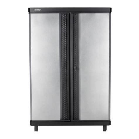 Kobalt Storage Cabinets Image Of Shop Kobalt 48 In W X 72 In H X 20 In D Steel Freestanding Garage Storage Cabinets At