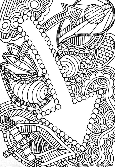 abstract coloring sheets abstract coloring page for adults high resolution free
