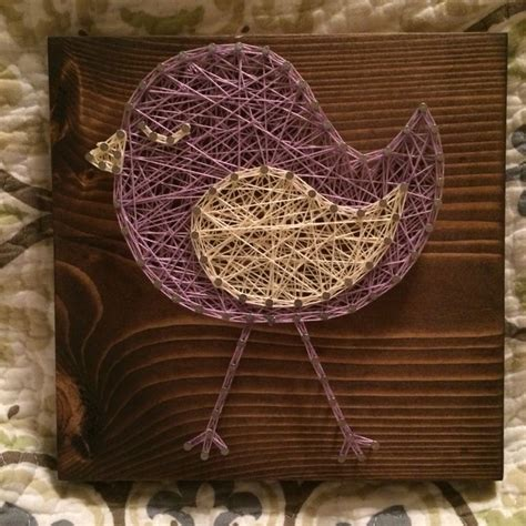 String Animals - custom bird string animal decor made to order