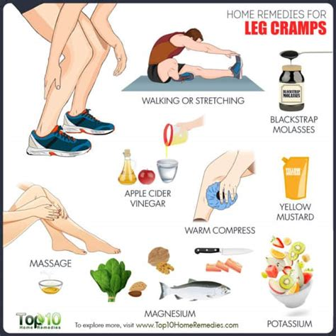 home remedies for leg crs top 10 home remedies