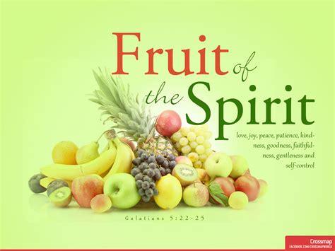 Of The Spirit the fruit of the spirit crossmap