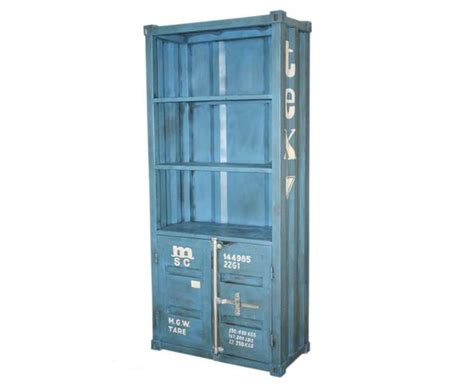 Meuble Container by Armoire Container En M 233 Tal Sur Deco And Me