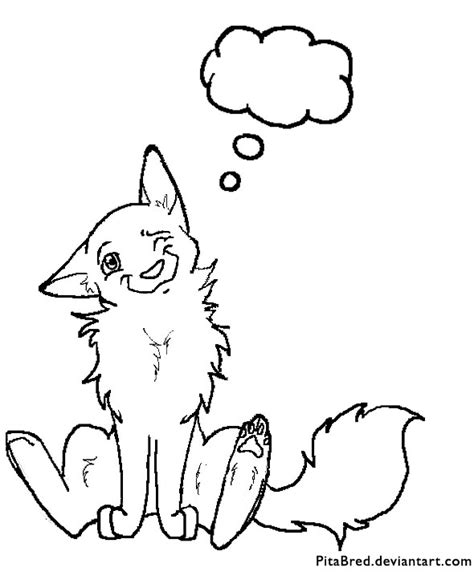 coloring pages of wolf pups wolf pup lineart by baetyl on deviantart