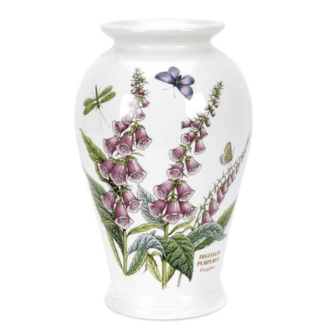 Portmeirion Botanic Garden Vase portmeirion botanic garden canton vase 8 inch foxglove portmeirion uk