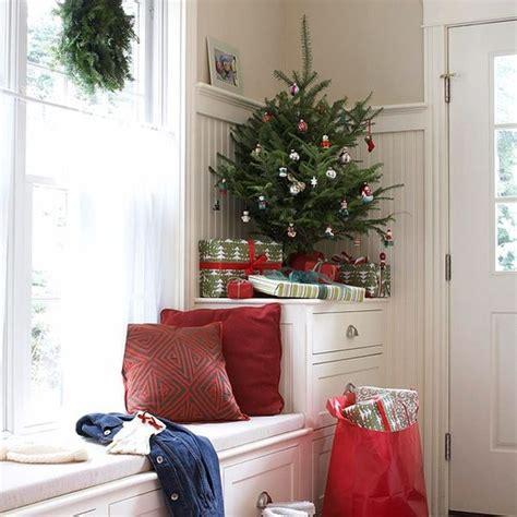 6 ways to decorate with mini christmas trees