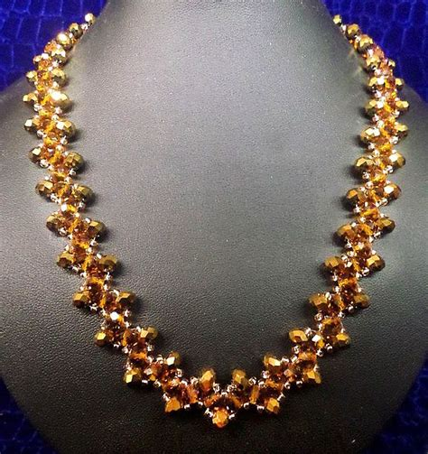 pattern of gold jewellery 7269 best seed bead tutorials images on pinterest
