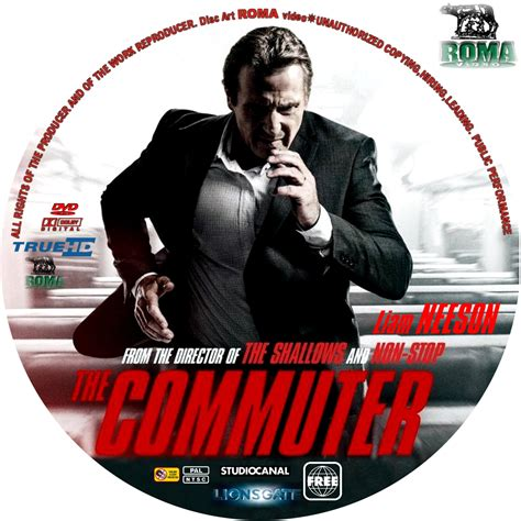 Dvd The Commuter 2018 covers box sk the commuter 2018 high quality dvd blueray