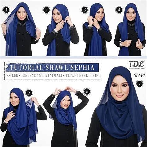 tutorial hijab pashmina shawl simple sephia shawl tutorial hijab tutorial pinterest shawl