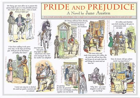 themes found in pride and prejudice cardcetera postcards cardcetera pagina 5
