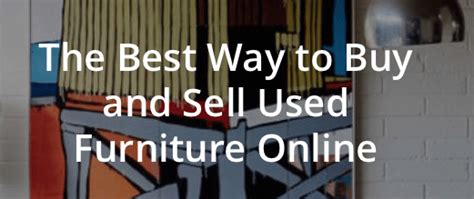 Buy And Sell Used Furniture by Trove Market Used Furniture 5 Free Credit And 10 Referrals