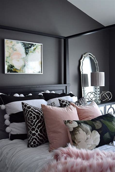 10 Black Bedroom Ideas Inspiration For Master Bedroom Designs Grey And Black Bedroom Decor