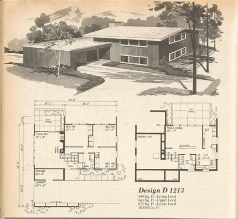 house planners 146 best images about vintage house plans 1970s on