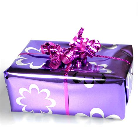 wrapping presents purple presents would you like gift wrapped green