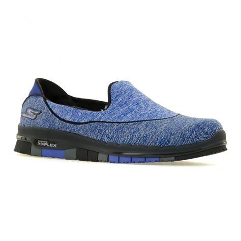 New Skechers Go Flex Blue skechers womens go flex stride trainers royal blue