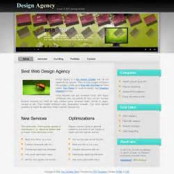 Template 254 Agency Agency Template