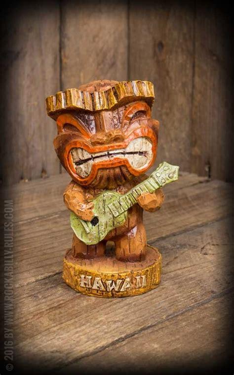 dekorieren hawaiian style tiki hawaii figur quot mele tiki quot rockabilly