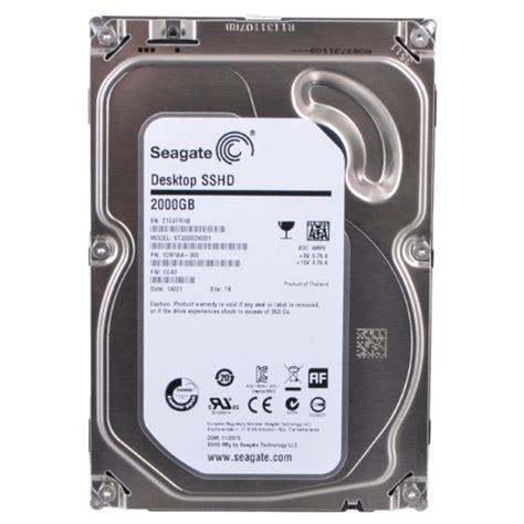 seagate sshd 2tb 3 5 seagate 2tb desktop gaming sshd solid state hybrid drive