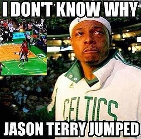 Terry Meme - lebron james crazy dunk on jason terry rip jet best memes