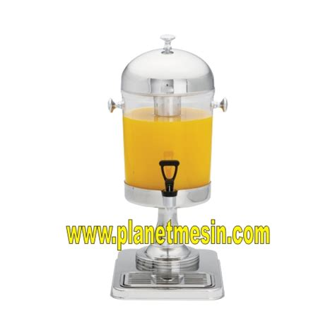 Mesin Juicer Dispenser pendingin minuman tanpa mesin 1 tabung planet mesin