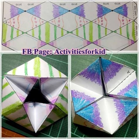 Paper Toys Origami - flextangles credit http babbledabbledo paper toys