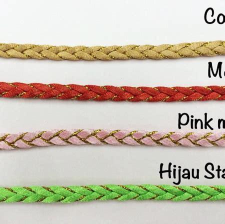 Tali Kulit 1mm Hijau Daun 27 central bali apparel fashion craft store