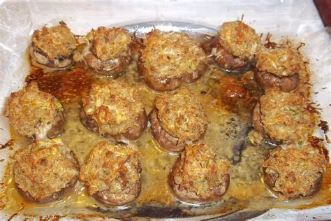 Olive Garden Stuffed Mushrooms Recipe by The Daily Smash Olive Garden Stuffed Mushrooms Copycat