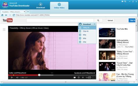 download youtube mp3 using ss aimersoft youtube downloader herunterladen und