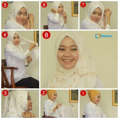 tutorial berhijab untuk lebaran tutorial hijab untuk idul fitri 2014 3