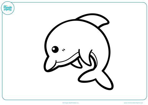 imagenes de niños nadando para colorear dibujos de delfines para colorear mundo primaria